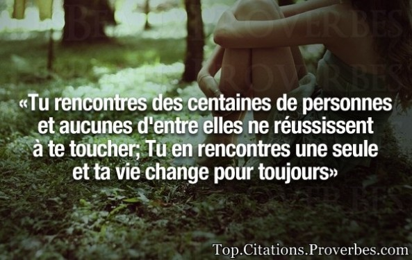 Citation une rencontre