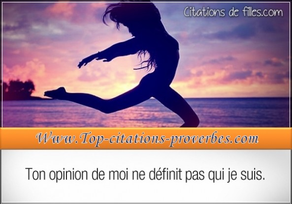 Citations filles estime de soi for Haute opinion de soi