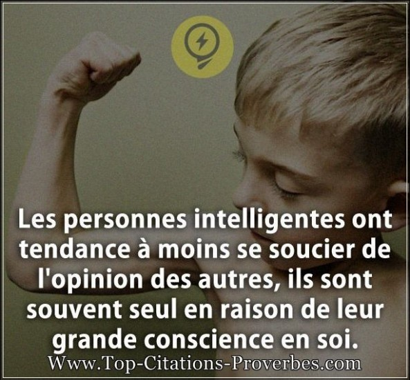 Citation conscience archives top citations proverbes for Haute opinion de soi