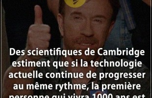 Citation gens : Des scientifiques de Cambridge estiment que si la technologie actuelle continue de p...