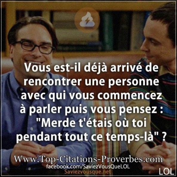 Une rencontre citation blog