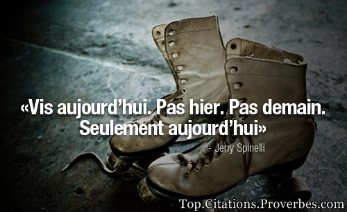 Seulement aujourd'hui – Jerry Spinelli…
