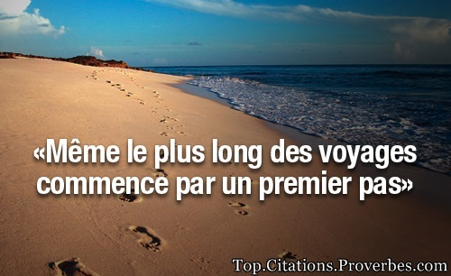 Voyage Archives Top Citations Proverbes