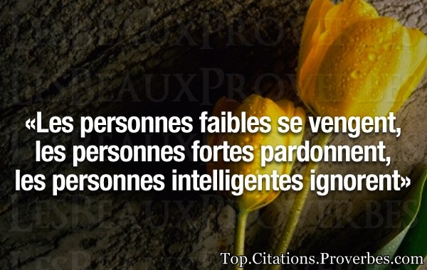 les personnes intelligentes ignorent…