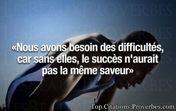Citation Persévérance Motivation