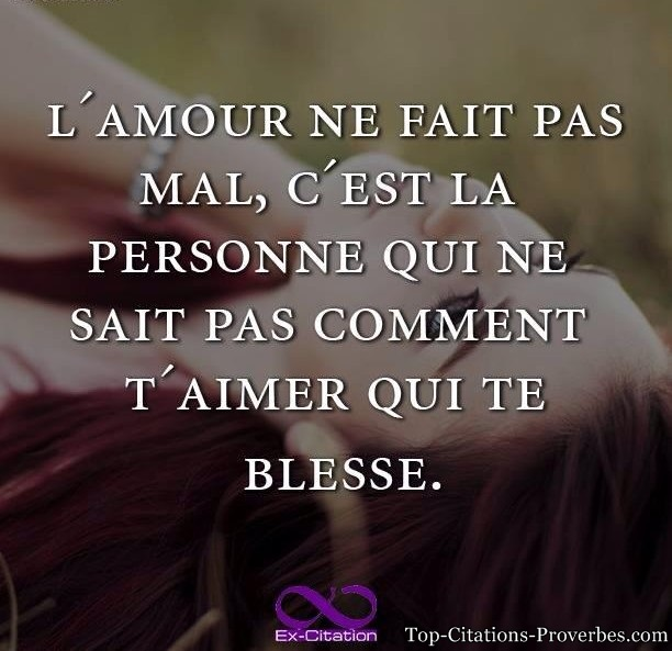 Citation D'Amour Triste En Anglais