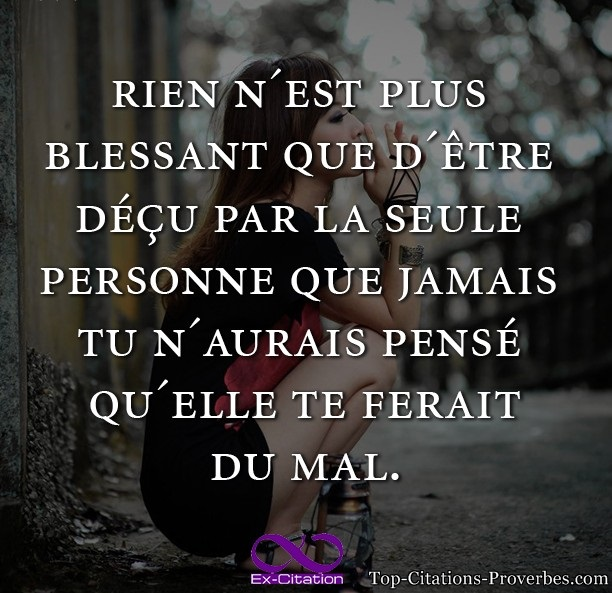 Citation D Amour Triste