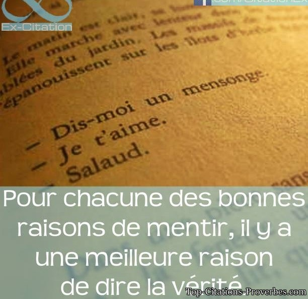 Citation Mensonge Citation D Amour Impossible Court Et