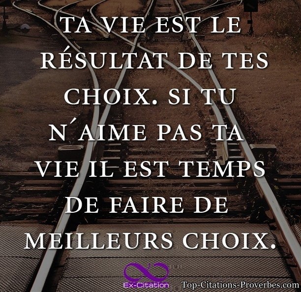 > Citations Ex-Citations > citation vie courte , citation d'amour ...