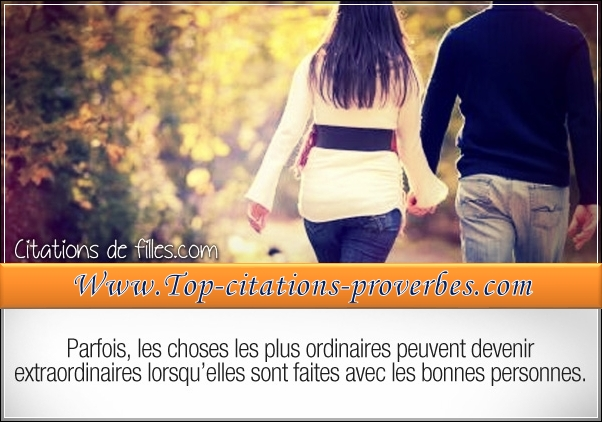 les choses les plus ordinaires peuvent devenir ex…