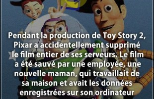 Citation film : Pendant la production de Toy Story 2, Pixar a accidentellement supprimé le film enti...