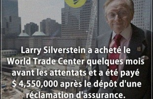 Citation argent : Larry Silverstein a acheté le World Trade Center quelques mois avant les attentats...