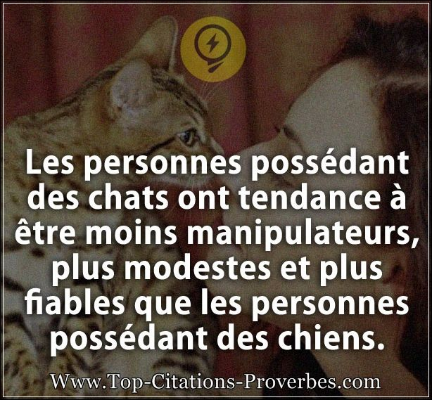citation chien les personnes poss dant des chats ont tendance tre moins manipulateurs plus. Black Bedroom Furniture Sets. Home Design Ideas
