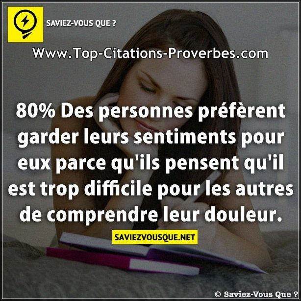 Citation Sentiment Le Pire Sentiment Est Quand Quelquun