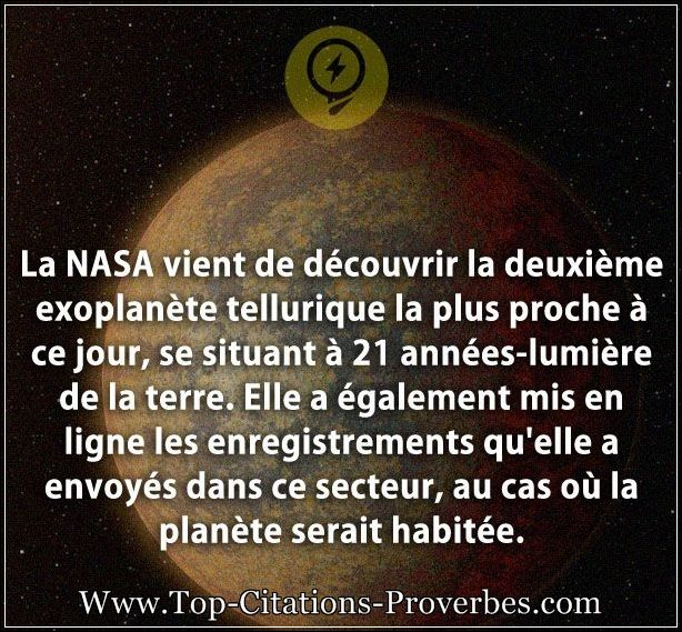 citation sur la vie la nasa vient de d couvrir la deuxi me exoplan te tellurique la plus. Black Bedroom Furniture Sets. Home Design Ideas