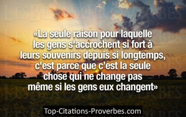 Citation Souvenir Archives Top Citations Proverbes