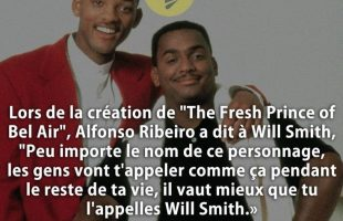 "Lors de la création de ""The Fresh Prince of Bel Air"", Alfonso Ribeiro a dit à Will Smith, ""Peu impor..."